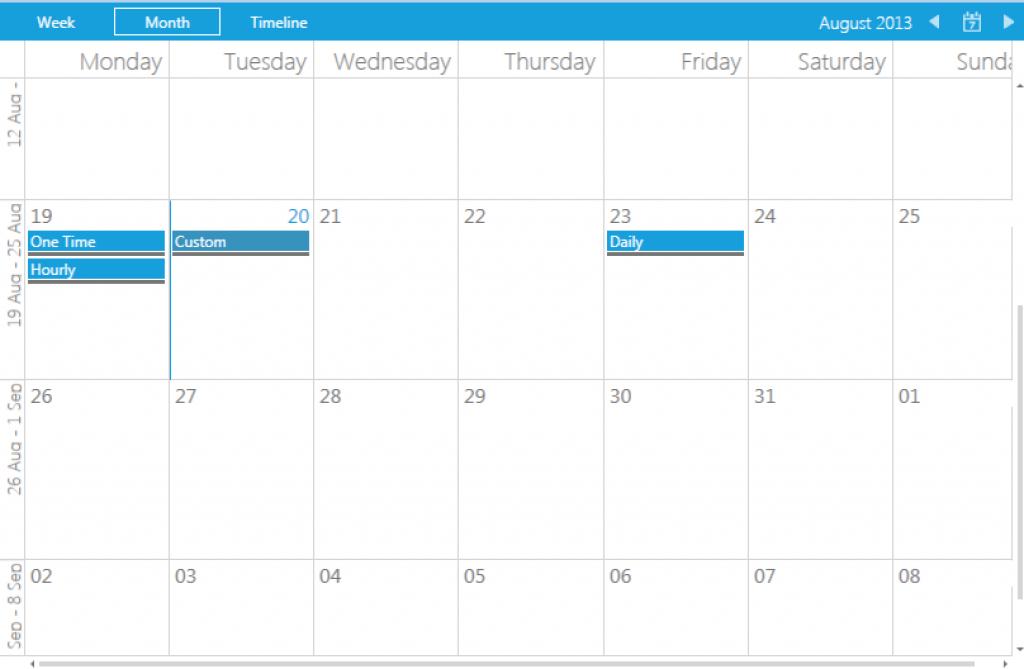UBot Scheduler